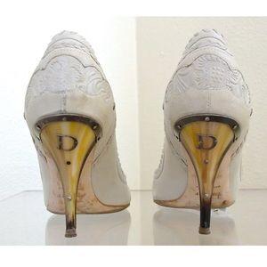 ✨Authentic Christian Dior Logo Pumps Heels Shoes